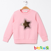 粉紅新年圖案厚棉T恤02粉色-bossini女童