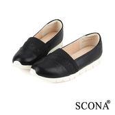 SCONA 樂活輕量舒適休閒鞋 黑色 7255-1