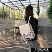 學生後背包古着书包女韩版原宿ulzzang高中学生小清新背包潮ins超火双肩包女 新年禮物