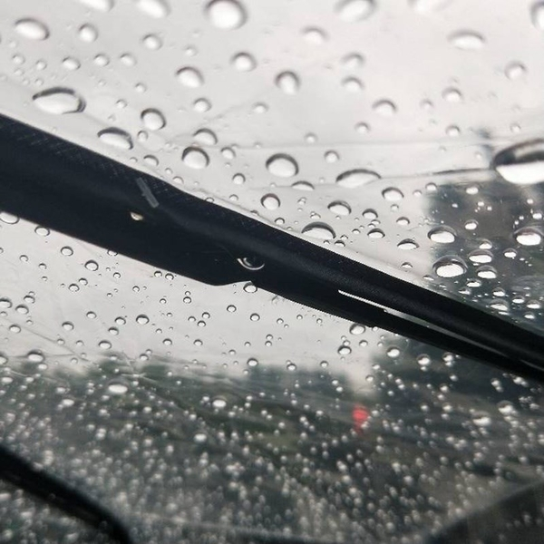 全自動透明雨傘女折疊塑料三折傘個性男小清新學生【毒家貨源】