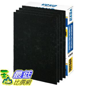 [107美國直購] VEVA Precut for HPA300 Premium Carbon Activated Pre Filters 4 Pack compatible with HW