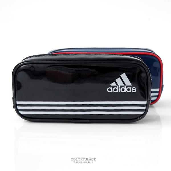 Adidas海外版愛迪達筆袋  柒彩年代【NZA3】