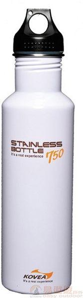 Kovea 韓國 SB不鏽鋼水壺-750無BPA白 KK8BT0202 露營配件 桌椅 廚房 帳篷 BBQ【易遨遊戶外用品】