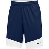 NIKE 男裝 短褲 籃球褲 單面穿 針織 透氣 深藍白 【運動世界】867768-420