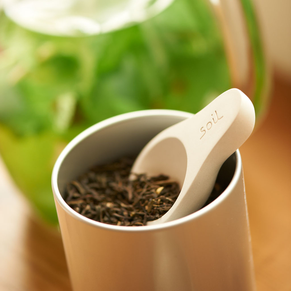 SOIL 硅藻土 茶匙 短柄 硅藻土湯匙 白 【JE精品美妝】