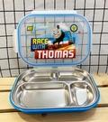 【震撼精品百貨】湯瑪士小火車_Thomas & Friends~湯瑪士~日本不鏽鋼餐盤-藍*20299