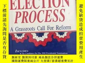 二手書博民逛書店THE罕見ELECTION PROCESSY338614 hel