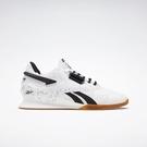 Reebok Legacy Lifter Ii [FU9458] 男鞋 運動 休閒 健身 舉重 穩定 透氣 白 黑