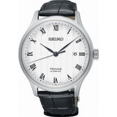 【台南 時代鐘錶 SEIKO】精工 PRESAGE 羅馬雅致經典機械錶 SRPC83J1@4R35-02S0P 皮帶 42mm