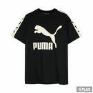 PUMA 女 流行系列PUMA織帶短袖T...