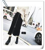 8801官圖修身半身裙女高腰顯瘦中長款黑色包臀裙大碼春秋季女胖mmFN-D-D16韓依戀