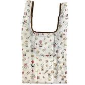 小禮堂 史努比 折疊環保購物袋 (棕廚師款) 2119300-00025