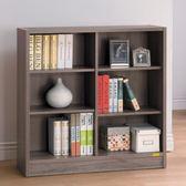 【新北大】✪ R261-5 康迪仕深木色六格寬書櫃 -18購