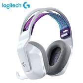 【Logitech 羅技】G733  RGB炫光無線電競耳機麥克風 白 【贈純水柔濕巾】