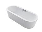 【麗室衛浴】美國 KOHLER Volute™ 獨立式鑄鐵浴缸 K-99313T 尺寸160x75x50cm