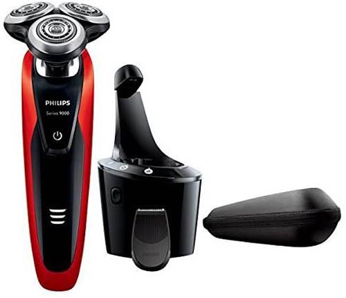 PHILIPS【日本代購】飛利浦 電動刮鬍刀9000系列 自動清洗器 S9152 / 26
