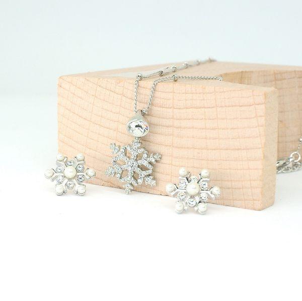 GIFT SET 韓國飾品 CLUE 聖誕雪花組