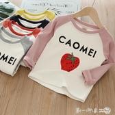 女童打底衫2019春秋季新款韓版洋氣兒童套頭上衣寶寶純棉長袖T恤