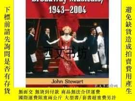二手書博民逛書店【罕見】2014年出版平裝Broadway Musicals,