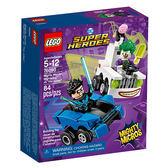 樂高積木LEGO 超級英雄 迷你車系列 76093 夜翼vs.小丑