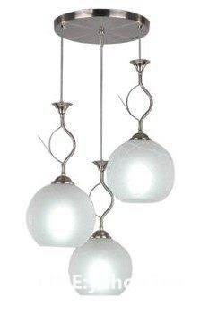 餐廳燈 三頭可調 簡約圓形燈飾 客廳吧檯使用