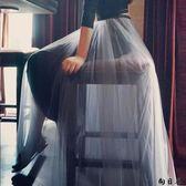 紗裙 長裙新款春秋網紗半身裙長裙a字裙蓬蓬裙高腰大擺裙子夏季中長款