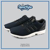 ADIDAS 復古慢跑鞋 ZX Flux 黑 編織 男 S79089【SP】