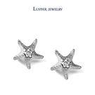 飾品‧LUSTER JEWELRY海之星1分鑽石耳環