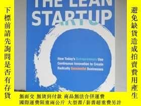 二手書博民逛書店(罕見7)The Lean Startup 9781524762407Y205213 ISBN:97815