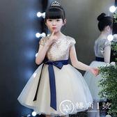 花童禮服 兒童公主裙蓬蓬紗鋼琴演出服走秀小主持人表演服裙子