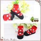 原廠正品 法國nurture tree 點點可愛娃娃鞋鞋型襪/寶寶襪 [NUT028]【Little Muffin小馬芬】