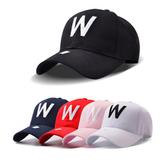 ※現貨 W字母刺繡棒球帽/鴨舌帽 5色【E297381】
