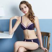【瑪登瑪朵】浪漫法式無痕內衣  B-E罩杯(時尚紫)