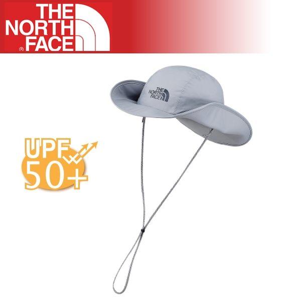 【The North Face DRYVENT 防水帽《 中灰》】CF7S/抗紫外線/防曬/遮陽/漁夫帽/牛仔帽