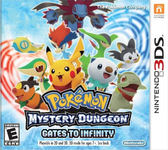 3DS Pokémon Mystery Dungeon: Gates to Infinity 神奇寶貝 偉大之門與無限迷宮(美版代購)