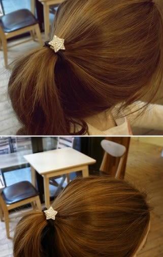 [協貿國際] 韓版合金鑲鑽水晶水鑽髮圈髮飾頭飾 (10個價)