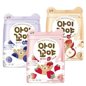 韓國 林貝兒 乳酸菌水果球 17g 藍莓 草莓 蘋果 豆豆餅 優酪球 嬰兒餅乾 6429 副食品