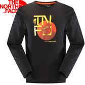 【The North Face 男 LIGHTEN 長袖T恤 黑】 CZE1/The North Face長袖★滿額送