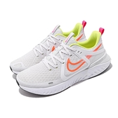 Nike 慢跑鞋 Legend React 2 淺灰 橘 男鞋 運動鞋 【ACS】 AT1368-008
