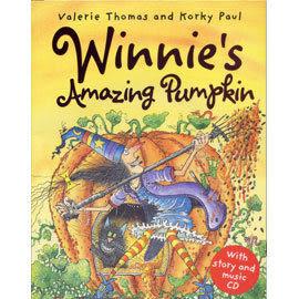 【麥克書店】 WINNIE'S AMAZING PUMPKIN /英文繪本附CD /巫婆黑貓《主題:萬聖節》