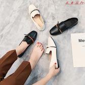 豆豆鞋女單鞋女平底樂福鞋小皮鞋