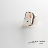 yunique Backyard  兔子頭戒指