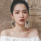 耳環時尚圓圈耳墜顯瘦臉大耳環2020年新款潮韓國氣質長款個性網紅耳飾 JUST M