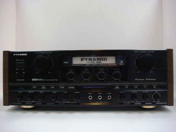 金字塔PYRAMID AK999 PRO 卡拉OK擴大機 (與 AK-8600Pro 同等級)