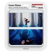 NEW 3DS專用 任天堂原廠 主機 上下外殼 替換面板 New N3DS NO.056 薩爾達穆修拉的面具【玩樂小熊】