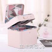 化妝包大容量簡約小號便攜可愛化妝品收納包韓國化妝箱手提·花漾美衣