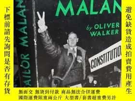 二手書博民逛書店1953年初版罕見SAILOR MALAN 插圖版 精裝帶書衣Y411026 OLIVER WALKER CA