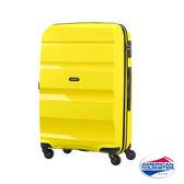 AT美國旅行者24吋 BON-AIR PP 材質 可擴充四輪行李箱(太陽黃)
