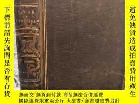 二手書博民逛書店1822年罕見THE VICAR OF WAKEFIELD 《威克菲爾德牧師傳》 大量插圖 全皮裝幀Y2776