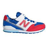 New Balance 中童鞋 紅 白 藍 男女童鞋 兒童復古跑鞋 寬楦 慢跑鞋 NB 996 KV996CTY